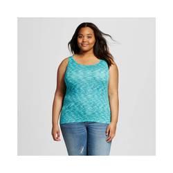 Mossimo Women's Plus Long & Lean Tank Top - Ebony - Size: 3X
