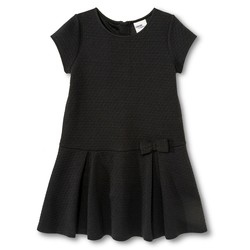 OshKosh Toddler Girls Jacquard Dress - Ebony - Size: M