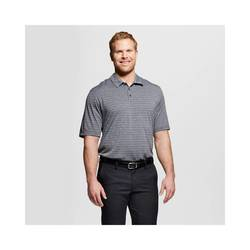 C9 Champion Men's Activewear Polo Shirt - Charcoal Heather - Sz: XXXL Tall