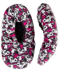 Peanuts Girls' Cozy Slipper Socks - Multi - Size: M/L