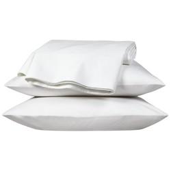 Fieldcrest Luxury Egyptian Cotton 800 TC Bed Sheet Set - White - Sz: Queen