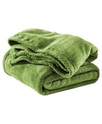Circo Baby Solid Polyster Blanket - Green - Size: Full/Queen