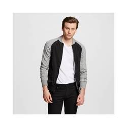 Mossimo Men's Bomber Jacket - Black - Size: Large