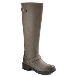 Mossimo Women's Kayce Fashion Boots - Stone Size: 6.5