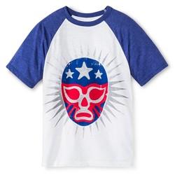 Cherokee Boys' Graphic T-Shirt - White - Size: Medium