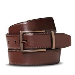 Merona Men's Reversible Feather Edge Belt - Black/Brown - Size: XXL
