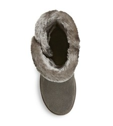 Women's Kamar Shearling Style Boots - Grey -Size: 9