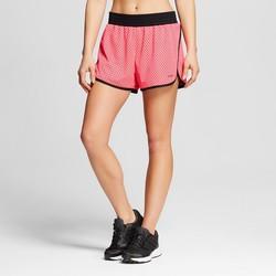 C9 Champion Women's Mesh Training Shorts - Pink Bloom - Size: 2XL
