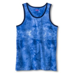 Mossimo Boys' Tie Dye Tank Top - Blue - Size: XL