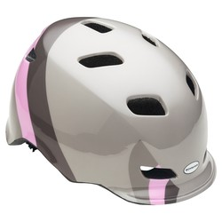 Schwinn Women's Shoreline Bicycle Helmet - Gray/Pink