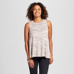 Knox Rose Women's Easy Knit Tank Top - Tan - Size: M