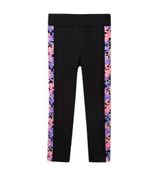 Freestyle by Danskin Girls' Gymnastic Capri Legging - Black - Size: Med