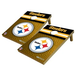 Wild Sports 2x3' Pittsburgh Steelers Platinum Shield Bag Toss Set