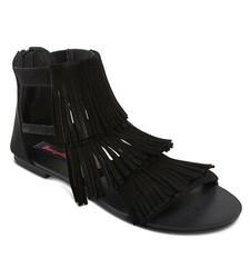 Betseyville Women's Tanvir Slide Sandals - Black - Size: 6.5
