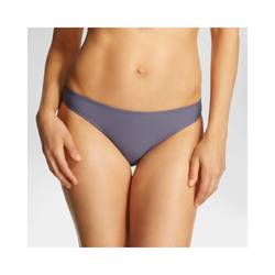 Xhilaration Women's Junior's Bikini Bottom - Grey - Size: Medium