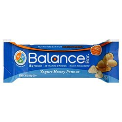 Balance - Nutrition Energy Bar Yogurt Honey Peanut - 6 Bars by