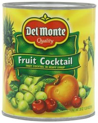 Del Monte In Heavy Syrup Fruit Cocktail - 30 oz