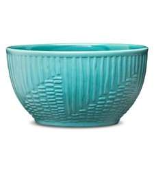 Room Essentials 3.75 Stoneware Dip Bowl   Blue