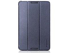 Lenovo A8-50 Folio Case and Film blue