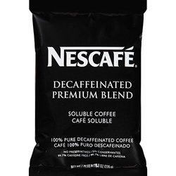 Nescafe Coffee Premium Blend Decaf Vend Pack - 8-ounce