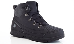 Adolfo Men's Work Boots Ralph - Black - Size: 12