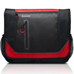 """Lenovo Carrying Case for 15.6"""" Notebook - Red/Black"""