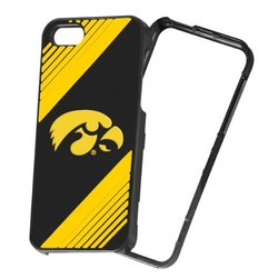 Forever Collectibles NCAA 2-Piece Snap-On iPhone 5/5S Polycarbonate Case - Retail Packaging - Iowa Hawkeyes
