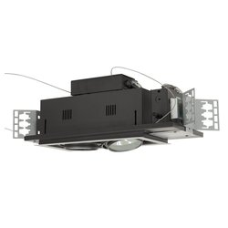Jesco Lighting Modulinear Directional Lighting - Black/Silver