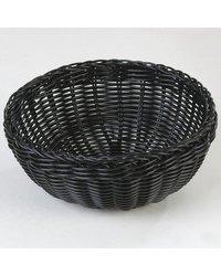 Carlisle Polypropylene Woven Round Basket - Tan