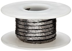 Palmetto Flexible Graphite Packing Seal - Shiny Gray - Size: 5'L