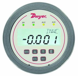 "Dwyer Digihelic Series Differential Pressure Controller - Range 0-0.5""WC"