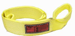 Stren Flex Type 3 Heavy Duty Nylon Flat Eye & Eye Web Slin - Yellow