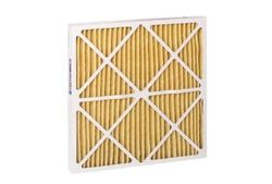 """Filtration HC Pleated Air Filter Synthetic Media - White -Size: 14""""x25""""x1"""""""