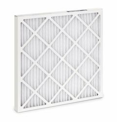 "Filtration HC Pleated Air Filter Synthetic Media - White -Size: 10""x30""x1"""