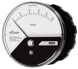 Wika Low Pressure Differential Pressure Gauge with Panel Mount