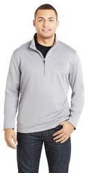 Prime 10 Year Quarter Zip Pullover - Gray - Size: Medium