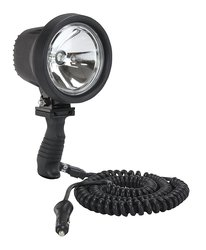 Larson 6 Million Candlepower Spotlight with Handle 12 foot - Black