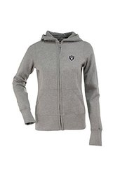 NFL Women's Oakland Raiders Signature Full Zip Hood - Gry Heathr - Size: S