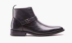 Kenneth Cole Unlisted Cal-ulus Men's Boot - Black - Size: 11