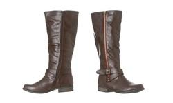 Riverberry Women's Sophia Knee-high Riding Boot - Dark Brown - Size: 9