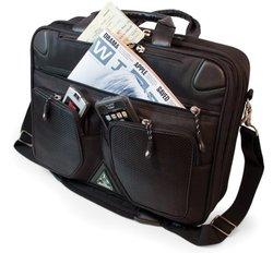 Mobile Edge Black 15.4 In Scanfast Briefcase Mesfbc