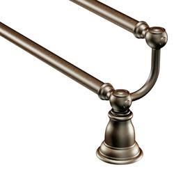 """Moen Kingsley 24"""" Double Towel Bar - Oil Rubbed Bronze"""
