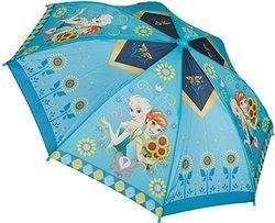 Disney Girl's Frozen Sunflower Umbrella - Blue