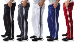 Verical Sports Men's Track Pants (2 Pack): Black/navy/2xl