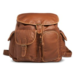 Mossimo Backpack Handbag - Brown