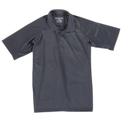 5.11 Tactical #71049 Performance Polo Short Sleeve Shirt (Black, Small)