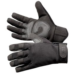 5.11 Men's Tac A2 Gloves  Black - Size: Small