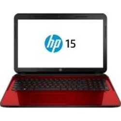 "HP Pavilion 15.6"" Laptop 2GHz 4GB 500GB  Windows 7 - Red (15-G273NR)"
