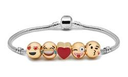 Emoji Bracelet - 5 Charms