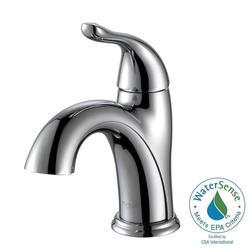 KRAUS Arcus Single Hole Single-Handle Bathroom Faucet - Chrome